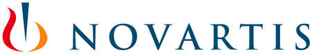 Logo of the pharmaceutical company Novartis AG with seat in Basel - Switzerland. Editorial