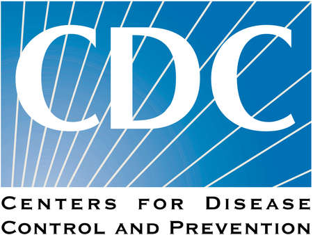 Logo of the Centers for Disease Control and Prevention CDC of the USA with seat in Druid Hills in the Federal State Georgia. - United States.