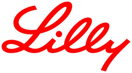 Logo of the US pharmaceutical enterprise Eli Lilly and Company with seat in Indianapolis - United States. Editorial