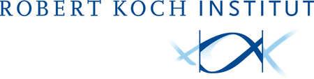 Logo of the Robert Koch Institute RKI in Berlin. - Germany. Editorial