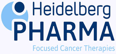 Logo of the German biotechnology company Heidelberg Pharma with seat in Ladenburg - Germany.