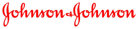 Logo of the US pharmaceutical enterprise Johnson & Johnson with seat in New Jersey. - United States.