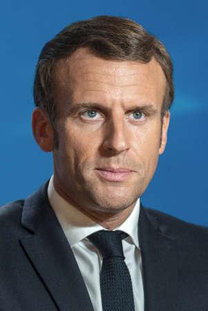 Emmanuel Macron - * December 21, 1977: French politician, President of France since 2017 - France