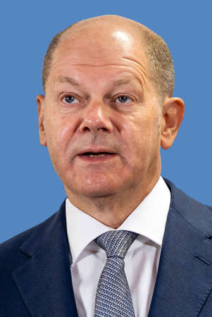 Olaf Scholz - * 14.06.1958: German politician of the social democratic party SPD, Federal Minister of Finance since 2018 and Vice Cancellor the Federal Republic - Germany.
