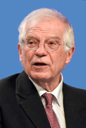 Josep Borrell - * April 24, 1947: Spanish politician and High Representative for Foreign Affairs and Security Policy of the European Union since 2019, Spanish Minister of Foreign Affairs 2018 to 2019 - Spain.