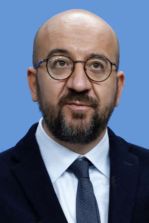 Charles Michel - * 21.12.1975 - Belgian politician, President of the European Council since 2019, Prime Minister of Belgium 2014 to 2019 - Belgium.
