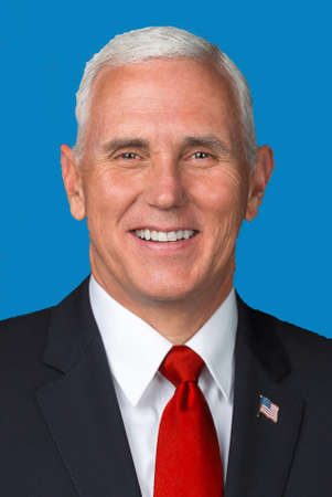 Michael Richard Pence - * 07.06.1959 - America politician and Vice President of the United States of America since 2017., Governor of Indiana from 2013 to 2017 - United States.