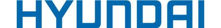 Company logo of the Korean automaker Hyundai Motor company - Korea.