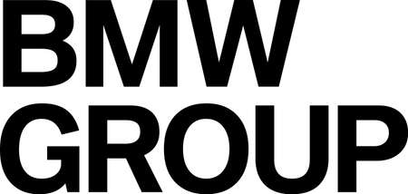 Company logo of the German automobile and motorcycle manufacturer BMW Group based in Munich - Germany.