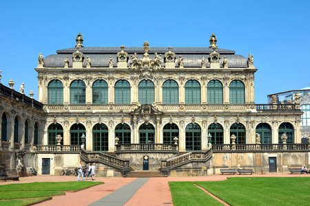 Royal Cabinet of Mathematical and Physical Instruments in the Zwinger palace of Dresden - Germany. Редакционное