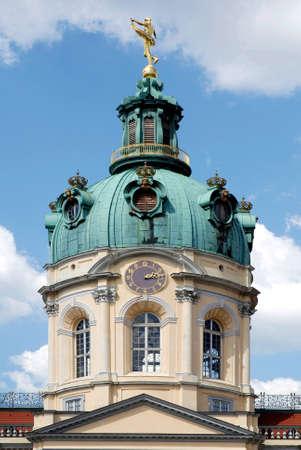 Charlottenburg Palace in the German capital Berlin - Germany.
