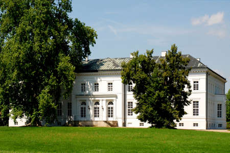 Castle Neuhardenberg in Brandenburg - Germany. Redactioneel