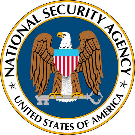 Seal of the National Security Agency NSA of the United States of America with seat in Crypto City - United States