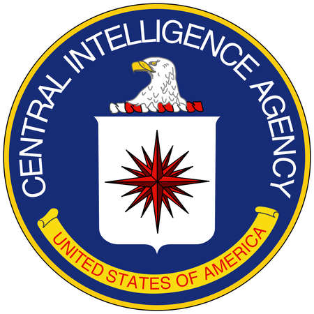 Logo of the Central Intelligence Agency CI A based in Langley- United States.