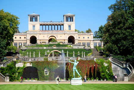 Orangery in the palace gardens of Sanssouci in Potsdam - Germany.