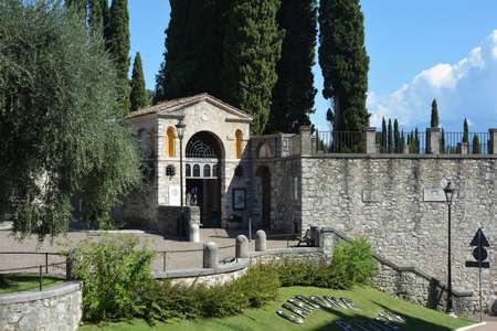 Italian Victory Monument Vittoriale degli italiani in Gardone Riviera - Italy. Standard-Bild - 167047097
