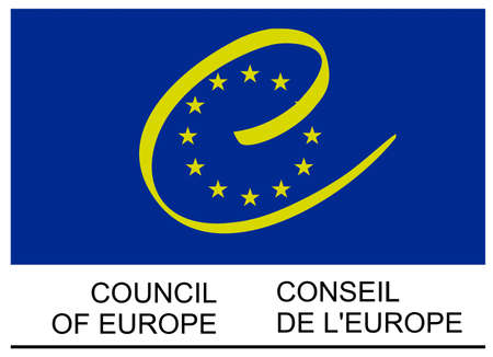 Logo of the Council of Europe based in Strasbourg - France.