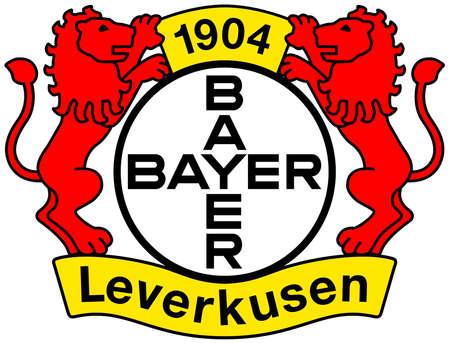 German football team Bayer 04 Leverkusen - Germany.