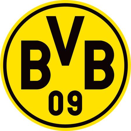 German football team Borussia Dortmund BVB - Germany. Editorial