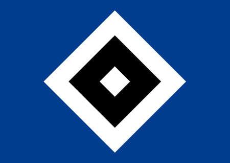 German football team Hamburger SV - HSV - Germany.