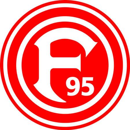 German football team Fortuna Dusseldorf - Germany. Editorial