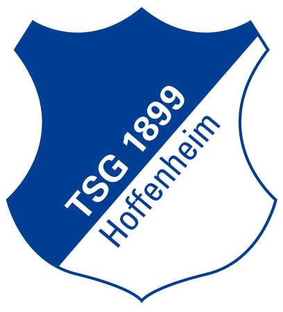 German football team TSG 1899 Hoffenheim - Germany. Editorial