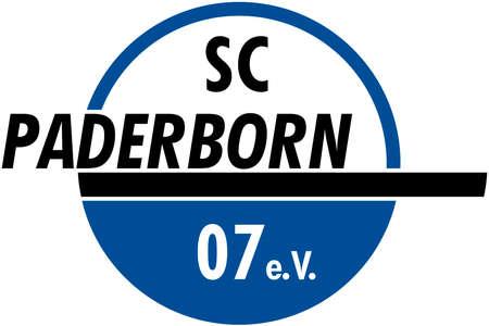 German football team SC Paderborn - Germany.