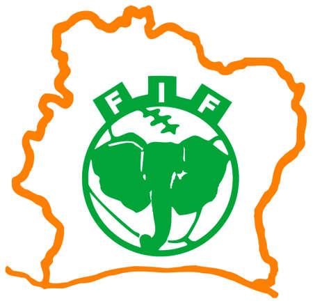 National football team of the Ivory Coast. Editorial