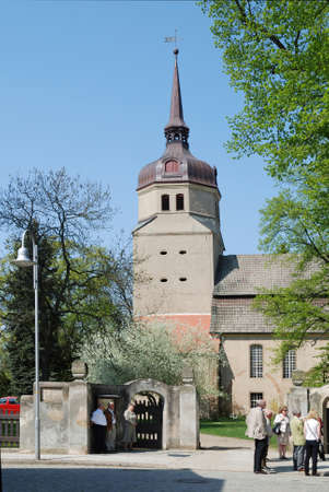 Protestant church Saint Mary of Dahme in the Mark Brandenburg - Germany. Editorial