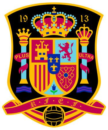 Spanish national football team La Seleccion espanola de futbol - Spain.
