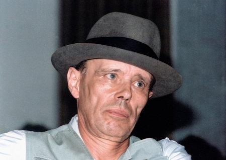 Joseph Beuys - 12.05.1921 - 23.01.1986: German action artist, sculptor, medalist, draftsman - Germany. Editorial