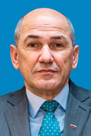 Janez Jansa - * 17.09.1958: Slovenian politician, Premier minister of Slovenia 2004 to 2008, 2012 to 2013 an since March 2020 - Slovenia. Editorial