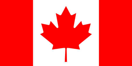 National flag of Canada.