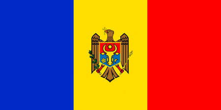 National flag of the Republic of Moldova,