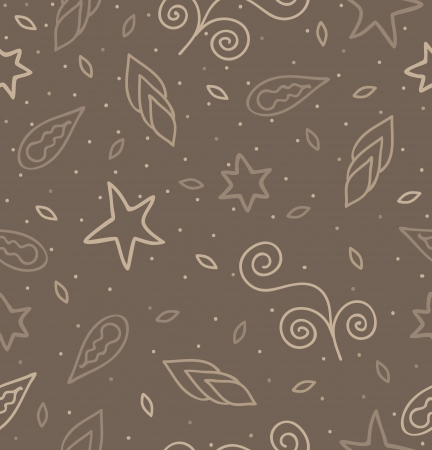 Cinnamon Pattern Vector