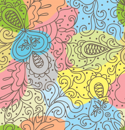 psychoanalysis: Seamless abstract hand-drawn pattern,soft background  Seamless pattern can be used for wallpaper, pattern fills, web page background,surface textures