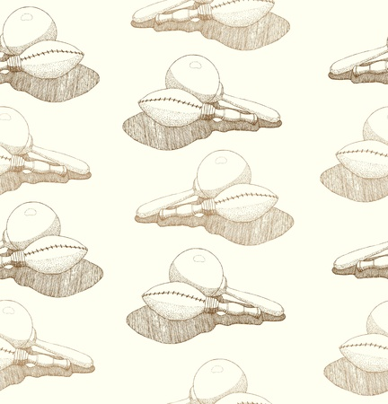 Seamless abstract hand-drawn patternwith maracas  Seamless pattern can be used for wallpaper, pattern fills, web page background,surface textures   Vector