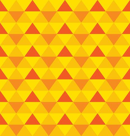Decorative triangles ornament  Illustration