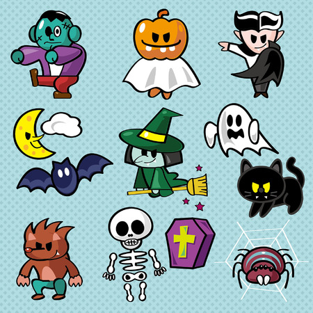 Halloween-Vektor-Illustration