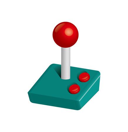 Joystick 3D Ilustração