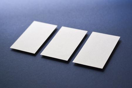 青い状況マップ _ ビジネス カード合成 写真素材