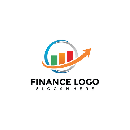 Finance Logo Template for your Company 向量圖像