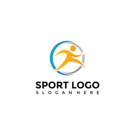 スポーツのロゴのテンプレート。ベクター イラスト素材。10