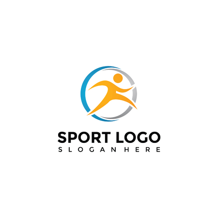Sport Logo Template. Vector Illustrator Eps. 10