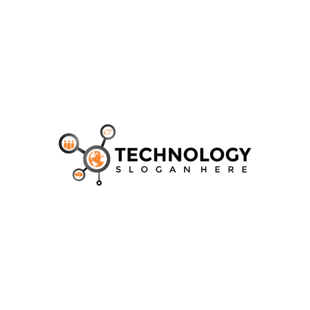 Technology Logo Template. Vector Illustrator Eps. 10