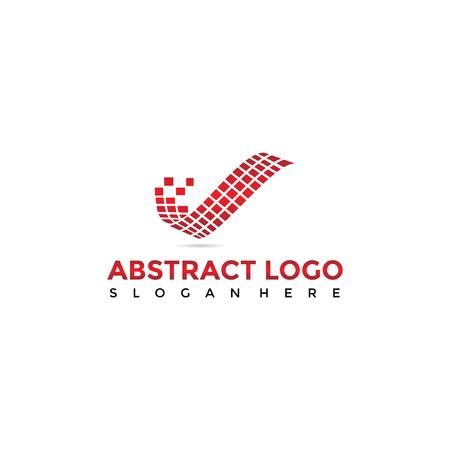 Abstract Digital icon design.