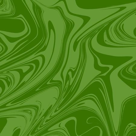 Green Artistic Ink Pattern. Vector Illustrator Eps.10 Illustration