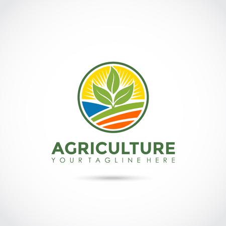 農業アイコンデザイン。ベクターイラストレーター