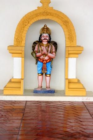 indian god: sculpture of indian god