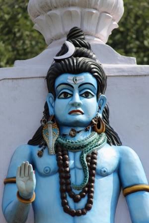 indian god: sculpture of Shankar bhagwan  indian god